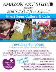 crafts classes for kids flyers make it a fun night for the whole family first friday scranton