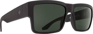 Spy Lens Color Chart Spy Optic Cyrus Sunglasses Matte Black Happy Gray Green 58 Mm