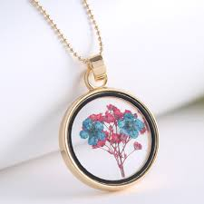 attractive glass necklace pendant new trends honeycomb blown jewelry