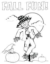 scarecrow coloring pages scarecrow coloring sheets pages color sheet thanksgiving page holiday free printable scarecrow