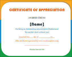Sample Certificates Templates Certificate Of Appreciation Template 32 Download In Word Pdf