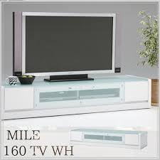 miles 160 tv board wh white snack modern tv stand glass tv board popular lowboard storage tv units backrest dvd deck 160 width 160cm家 fixture
