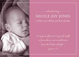 Baby Announcement Cards Introducing Baby Girl Cards 25