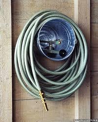 bucket for hose storage hose storage