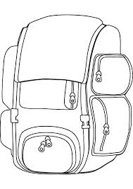 Small Picture Back to School Backpack Coloring Pages Best Place to Color