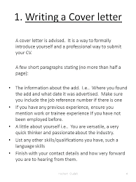 Cover Letter Introducing Yourself Best Solutions Of How To Write A