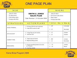 simple one page business plan template one page business pitch template simple one page business
