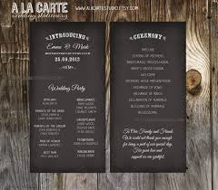 e07bd02fd7376316fa5fe1d4100992c5 card wedding wedding paper wedding ceremony cards wedding program chalk by alacartestudio on ceremony cards for weddings