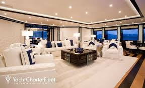 ... Alfa Nero Yacht Main Salon - Seating ...