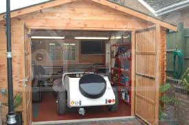 the popularity of wooden garages in uk