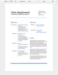 Smartness Google Resume How To Make A Professional In Docs Resume Job