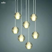 light bubble glass pendant light lights s starfish lamp mercury shades