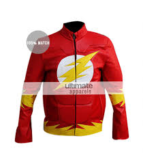 flash dc comics cosplay inspired red jacket costume