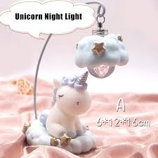 <b>Ins Cartoon Unicorn</b> LED Night <b>Light</b> For Kids Gift Home Decoration ...