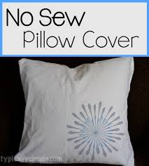 with some safety pins and a pillow case make this no sew throw pillow cover