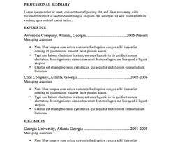 Resume Resume Profile Personal Job Career Recruitment Concept It