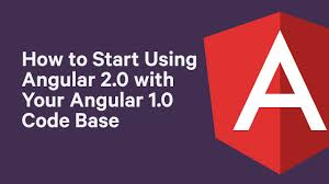Tutorial: How to Start Using Angular 2 with Your Angular 1.X Code ...