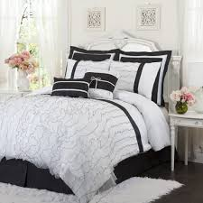 black and white comforter sets black and white king size comforter queen black and