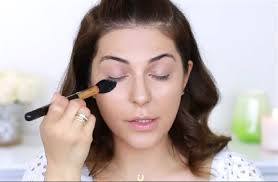 apply setting powder easy no makeup makeup tutorial you need for 2017