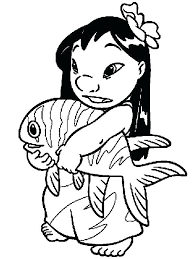 Lilo And Stich Coloring Pages Printable Lilo And Stitch Coloring