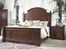 mahogany bedroom furniture. 4 piece heritage mahogany traditional king size sleigh bed set bedroom furniture
