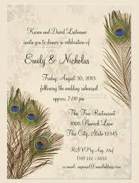 Peacock Invitations Peacock Themed Wedding Invitations Peacock Inspired Wedding