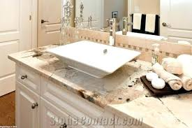 awesome bathroom vanity with granite white cherry cabinets contemporary countertop grey granit