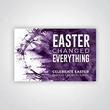 Church Invite Business Cards