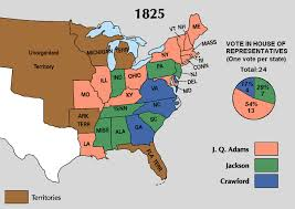 John Quincy Adams Presidency Chart The Monroe And Adams Administrations Boundless Us History
