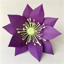Paper Flower Cutter Paper Flower Template Hellebore For Silhouette Or Cricut Explore Craft Cutters