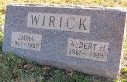 Albert H. Wirick (1861-1935) - Find A Grave Memorial