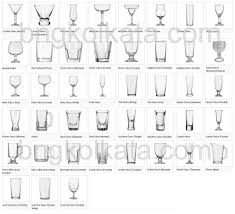 Wine Glass Shape Chart Food And Beverage Service Equipment Bng Hotel Management