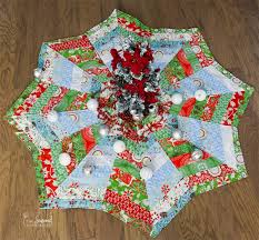 Christmas Tree Skirt Pattern Beauteous How To Make A Christmas Tree Skirt You'll Love The Seasoned Homemaker