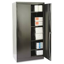 Heavy Duty Storage Cabinets Tennsco 1480bk Standard Black Storage Cabinet 36 X 24 X 72 5