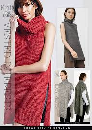 Free Knitted Vest Patterns Mesmerizing Vest Knitting Patterns In The Loop Knitting
