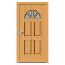 pine wood country house door