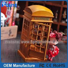 Londra cabina telefonica antico carillon promozione regalo