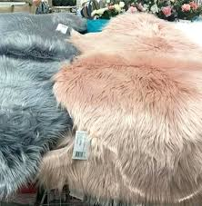 light pink faux fur rug designs