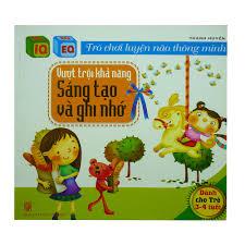 Trò Chơi Luyện Não Thông Minh - Vượt Trội Sáng Tạo Và Ghi Nhớ ( Dành Cho  Trẻ 3-4 Tuổi) | nhanvan.vn – Siêu Thị Sách Nhân Văn