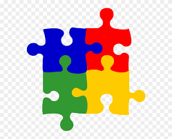 Yellow Blue Green Colors Puzzle Green Yellow Red Blue Clipart 80842
