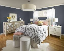 Navy And White Bedroom Color Fend Interiors