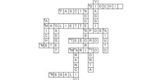 Cruciverba Per Addio Al Nubilato Un Crossword Divertente Per La Sposa