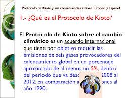 Resultado de imagen de Protocolo de Kioto