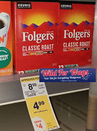 Starbucks roast and ground or whole bean coffee or pods. Another Folgers Sale Coming Up Print Now