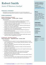 Agile Business Analyst Resumes It Business Analyst Resume Samples Qwikresume