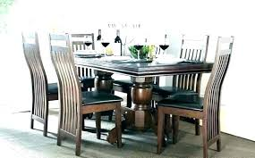 dining table with 6 chairs 6 chair round dining table set 7 6 seat round dining