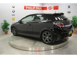 used vauxhall astra 2 0t 16v vxr 3 door hatchback black 2009 petrol in