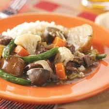 Lamb Stew Recipe Beef And Lamb Stew Recipe Taste Of Home