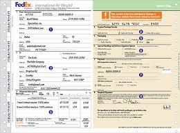 Fedex Air Waybill Form Download Chakrii