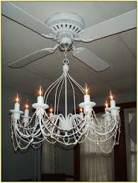 diy ceiling fan chandelier combo
